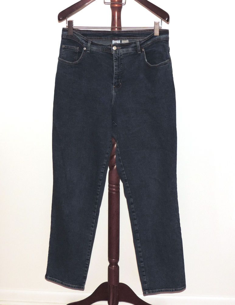 83383378996 Details about JMS Just My Size Plus 18W Straight Leg Denim Jeans in ...