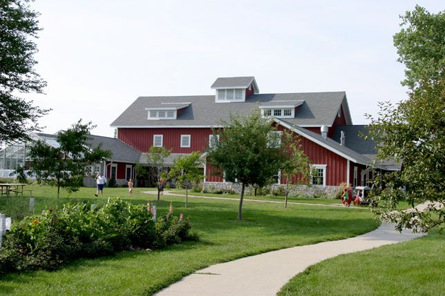 http://www.glenviewparks.org/facilities-parks/wagner-farm/heritage-center-rentals/  Wagner Farm in Glenview IL