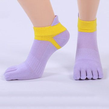 latest wholesale outlet best authentic Women Five Toes Breathable Sports Yoga Sock Cotton Exercise ...