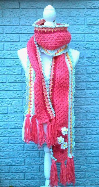 Pin von Claudia Gerrits auf Crochet   Pinterest   Schals und Häkeln