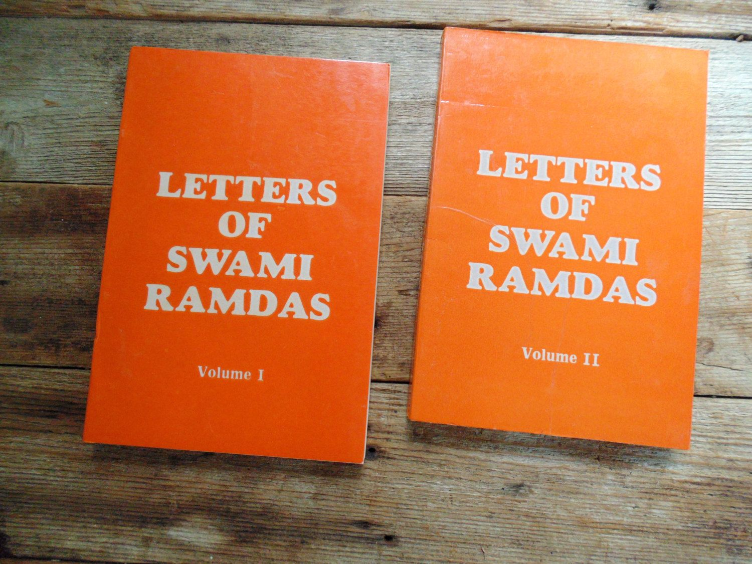 Letters Of Swami Ramdas Lot Of 2 Books 1980s Reprints By Ourvintagehouse On Etsy Letters Etsy Books