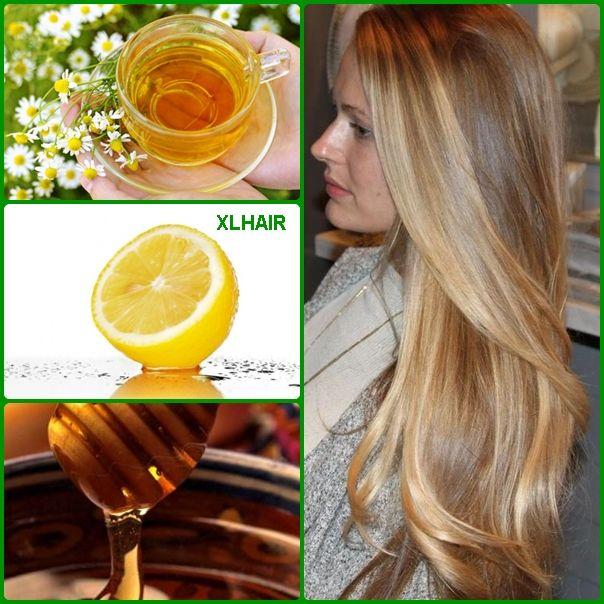 metodos naturales para aclarar el cabello