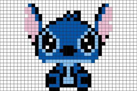 Resultat De Recherche D Images Pour Pixel Art Stitch Pixel Art Pattern Stitch Disney Pixel Art