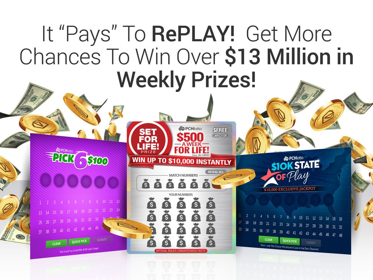 PCH Lotto Real Cash Jackpots on the App Store I AM ROSA