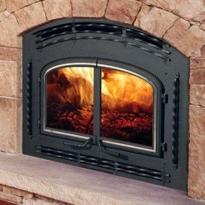 Fireplace inserts and Stone fireplaces