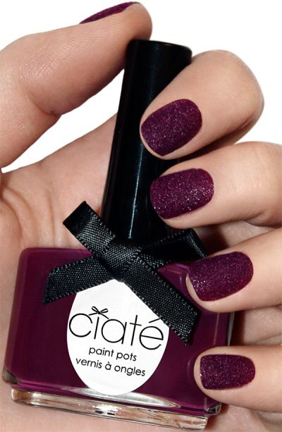 New matte look for nails - Velvet Manicure by Ciate | Hair and Nails ...
