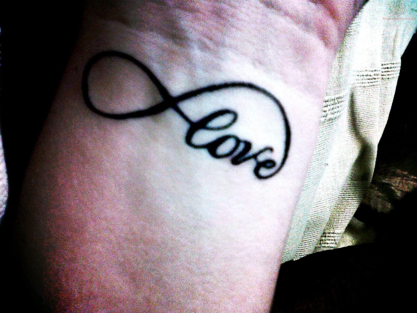 Love Infinity Symbol Tattoo My Style Pinterest Symbol Tattoos