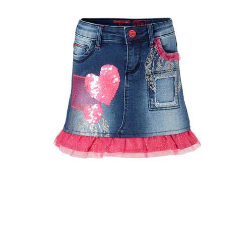 0fdb3ffea Desigual Gargalla spijkerrok in 2019   Products - Rok, Pailletten en ...