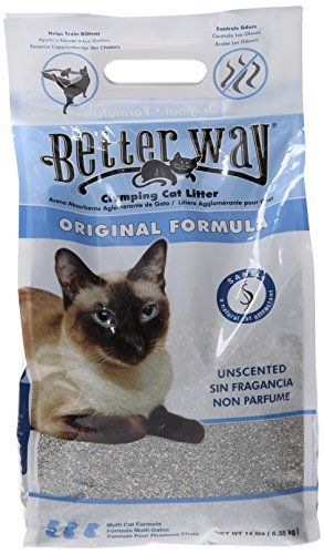 Better Way Original Unscented Clumping Bentonite Cat Litter With Sanel Cat Attractant By Ultrapet Want To Know More Cl Cat Litter Clumping Cat Litter Litter
