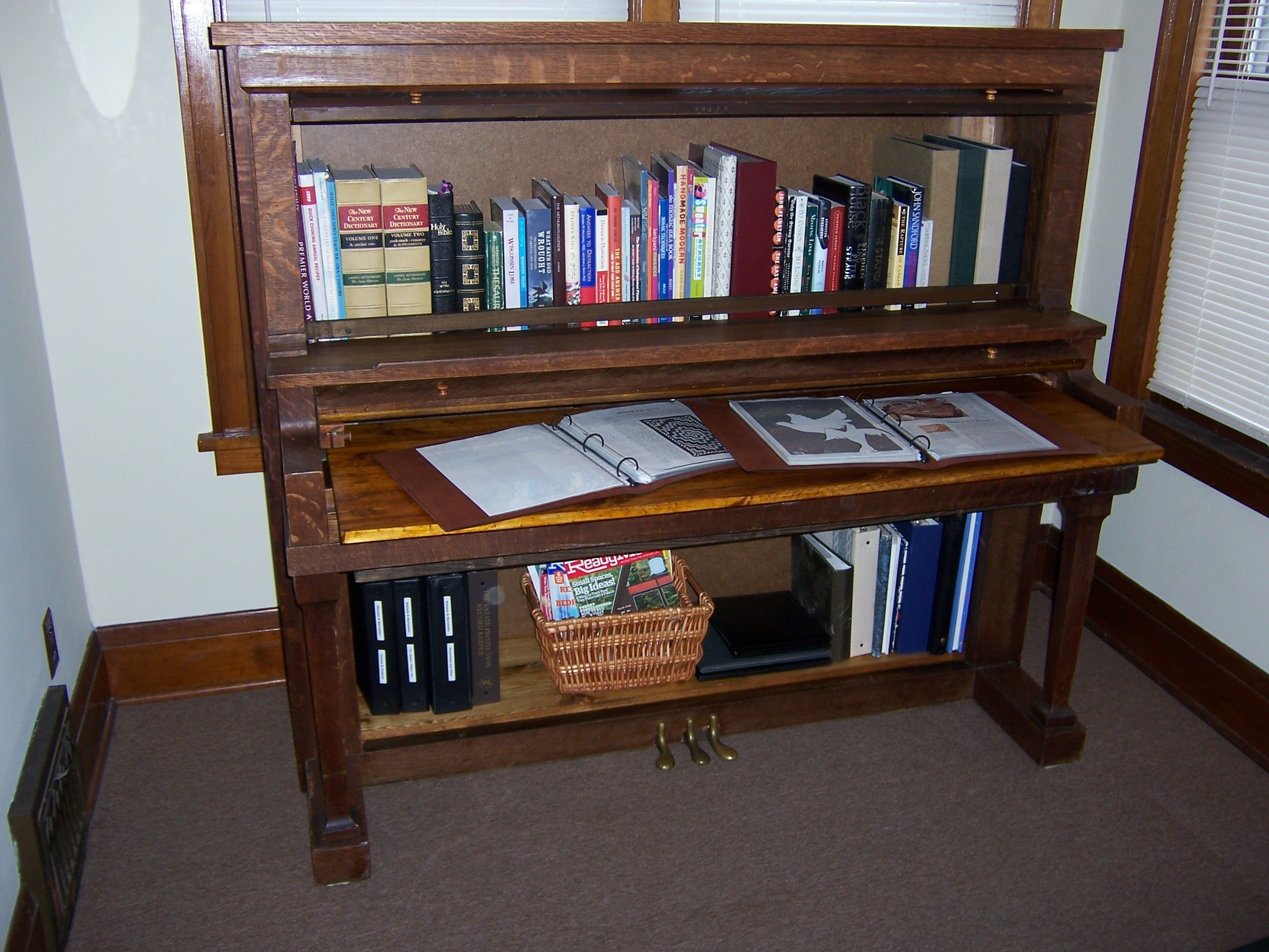 3 How I Did It Piano Desk Piano Crafts Old Pianos