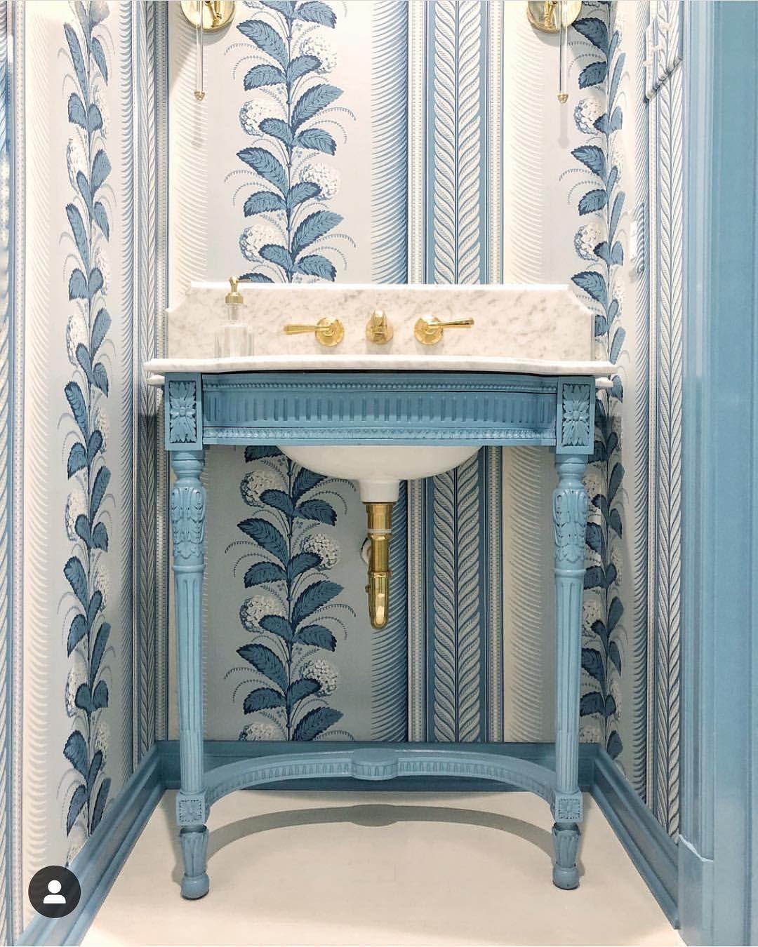 "Powder Room By Amy Kartheiser Design: Amy Studebaker Design On Instagram: ""Happy Sunday! Sharing"