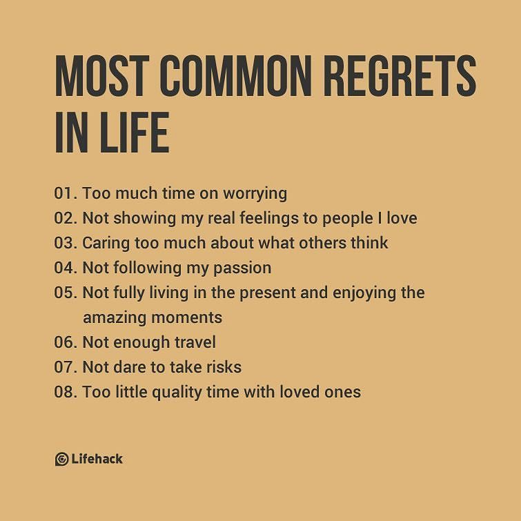 Which One Are You Most Afraid Of Regretting Follow At Jonopoon Live