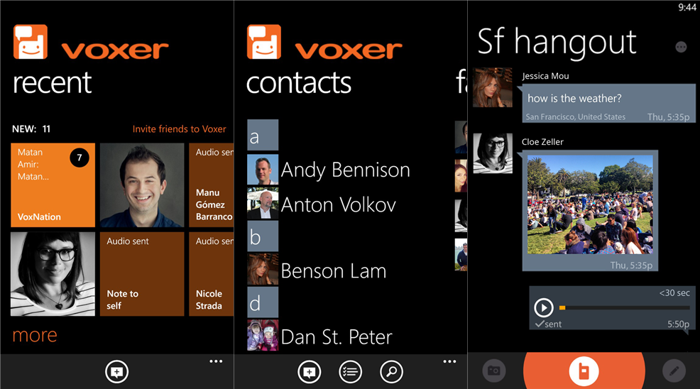Voxer voicemail application is now available for Nokia