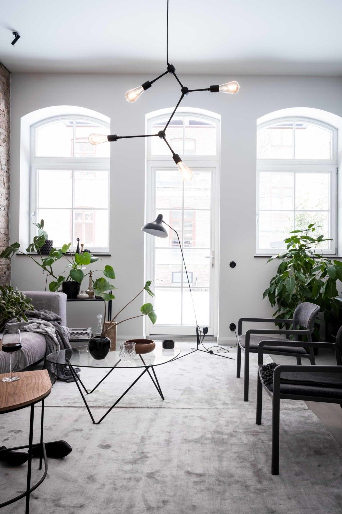 Exclusive Home With An Exposed Brick Wall H O M E Pinterest