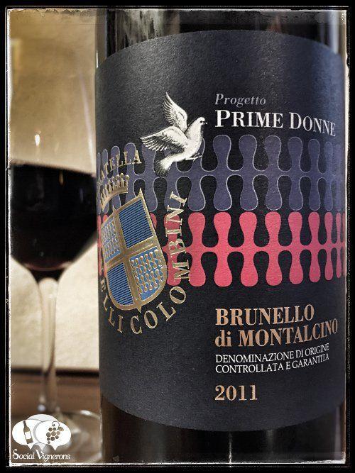 2011 Donatella Cinelli Colombini Progetto Prime Donne Brunello di Montalcino wine front label small