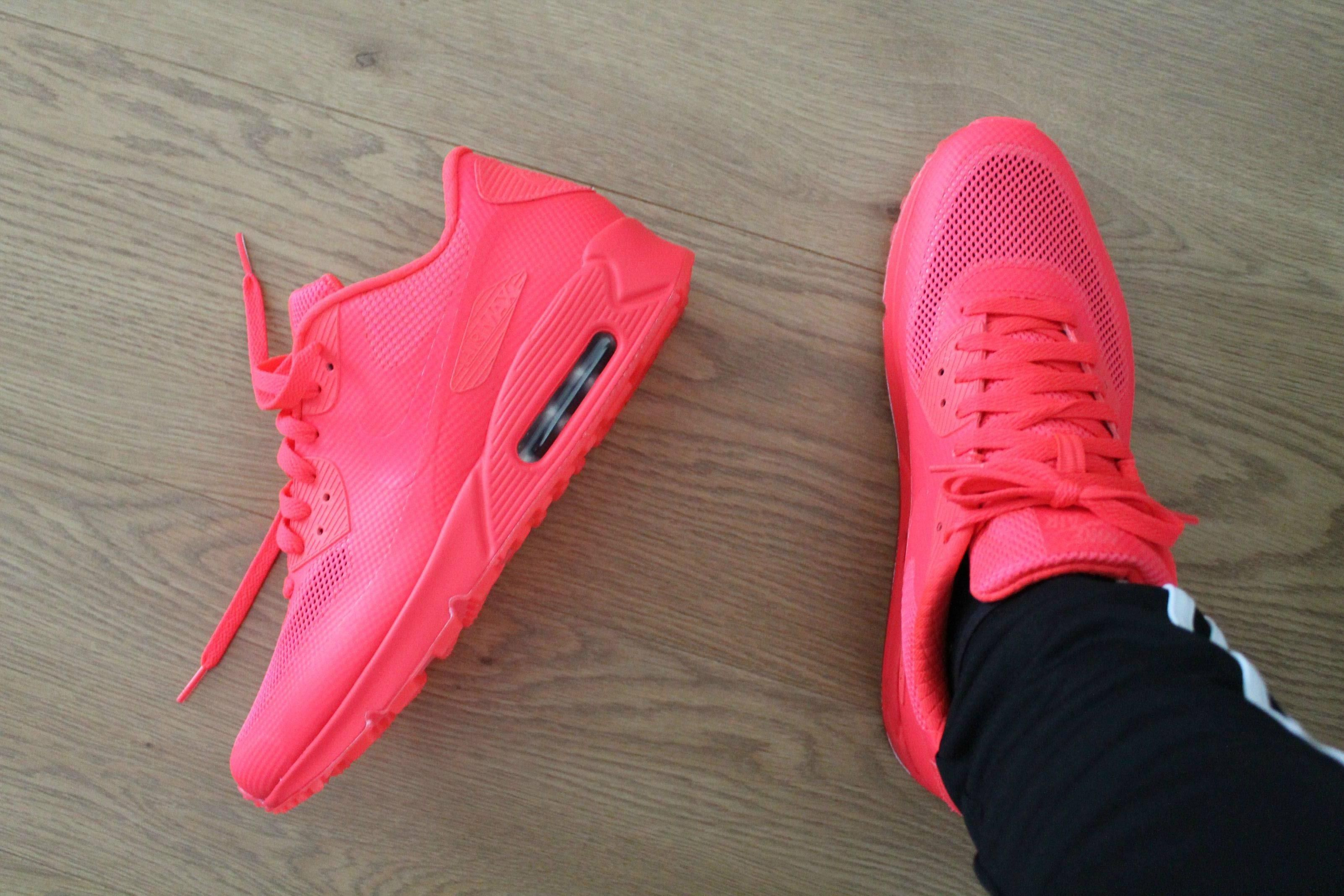 nike air max 90 id all red