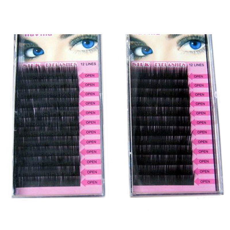 Beauty hoge kwaliteit nertsen wimper extension wimpers, individuele wimpers, natuurlijke wimpers, fake valse wimpers merk make