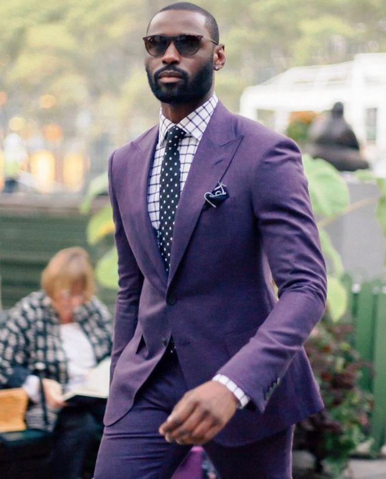 25 Popular Dressing Style Ideas for Black Men | Trajes boda, Traje y ...