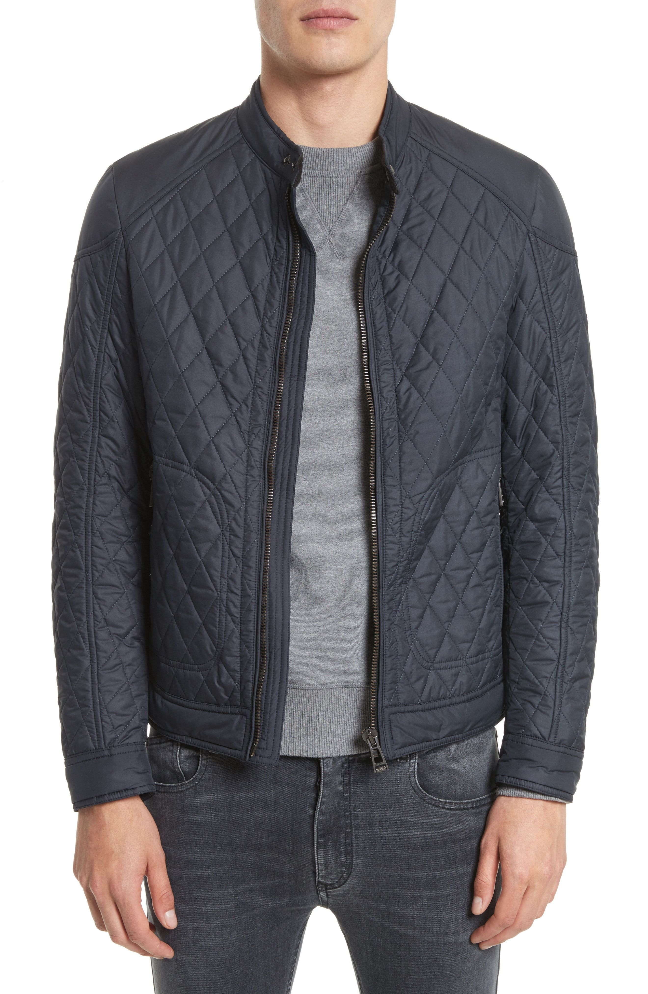 intl london quilted quilt stuarts shirt image navy smq b jacket bomber barbour