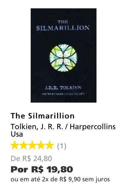 The Silmarillion - Saraiva