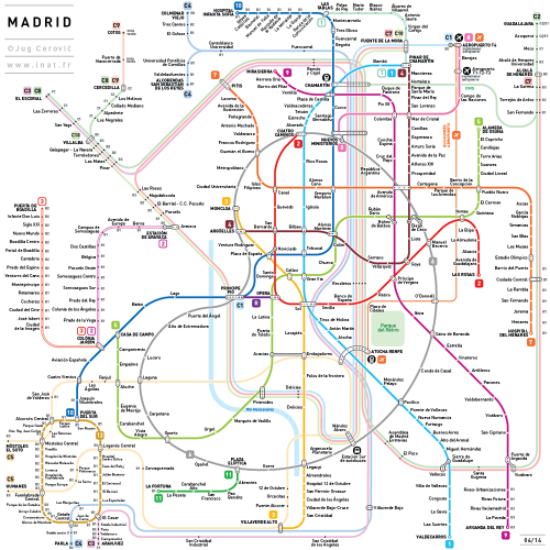 These 7 Rules Could Create One Subway Map For The Entire World