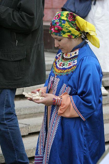 Khanty or Mansi woman- Siberia, Russia http://www.flickr.com/photos/ugra/167565954/