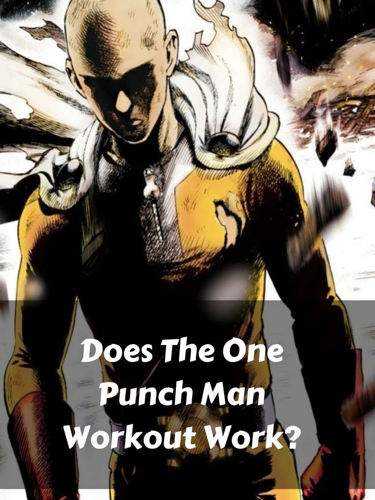One Punch Man Workout To Be The #1 Hero! | One punch man ...