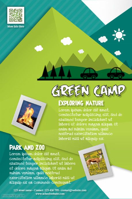 Summer Camp Flyer Http://Www.Postermywall.Com/Index.Php/Poster