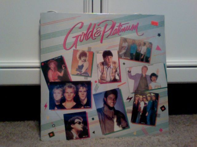 "Multiple artists ""Gold and Platinum""  80's record"