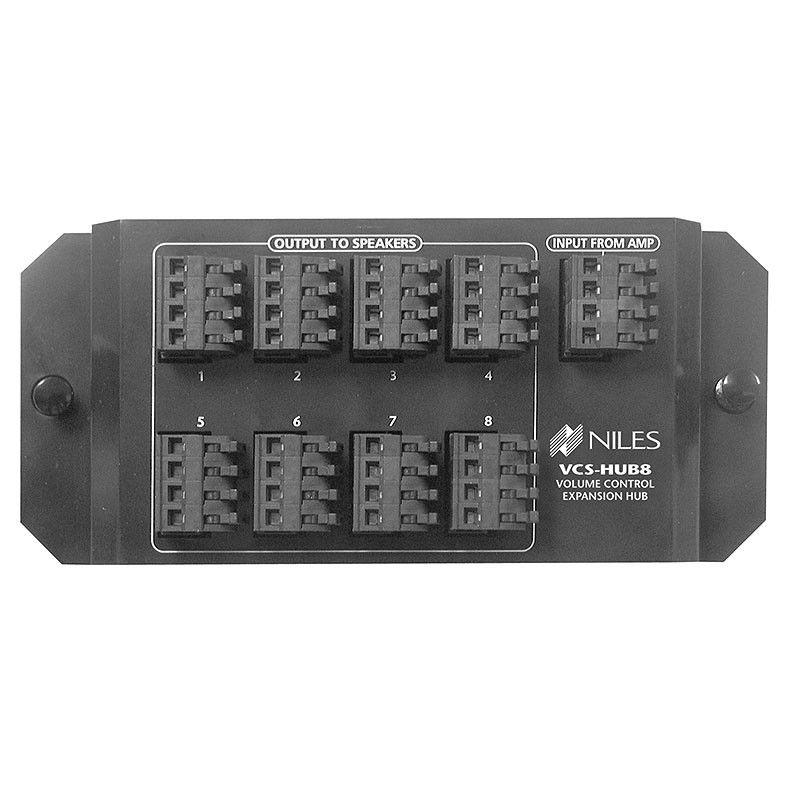 10c24e93c693e75232960775f462598e niles audio vchub8 volume control speaker distribution hub niles