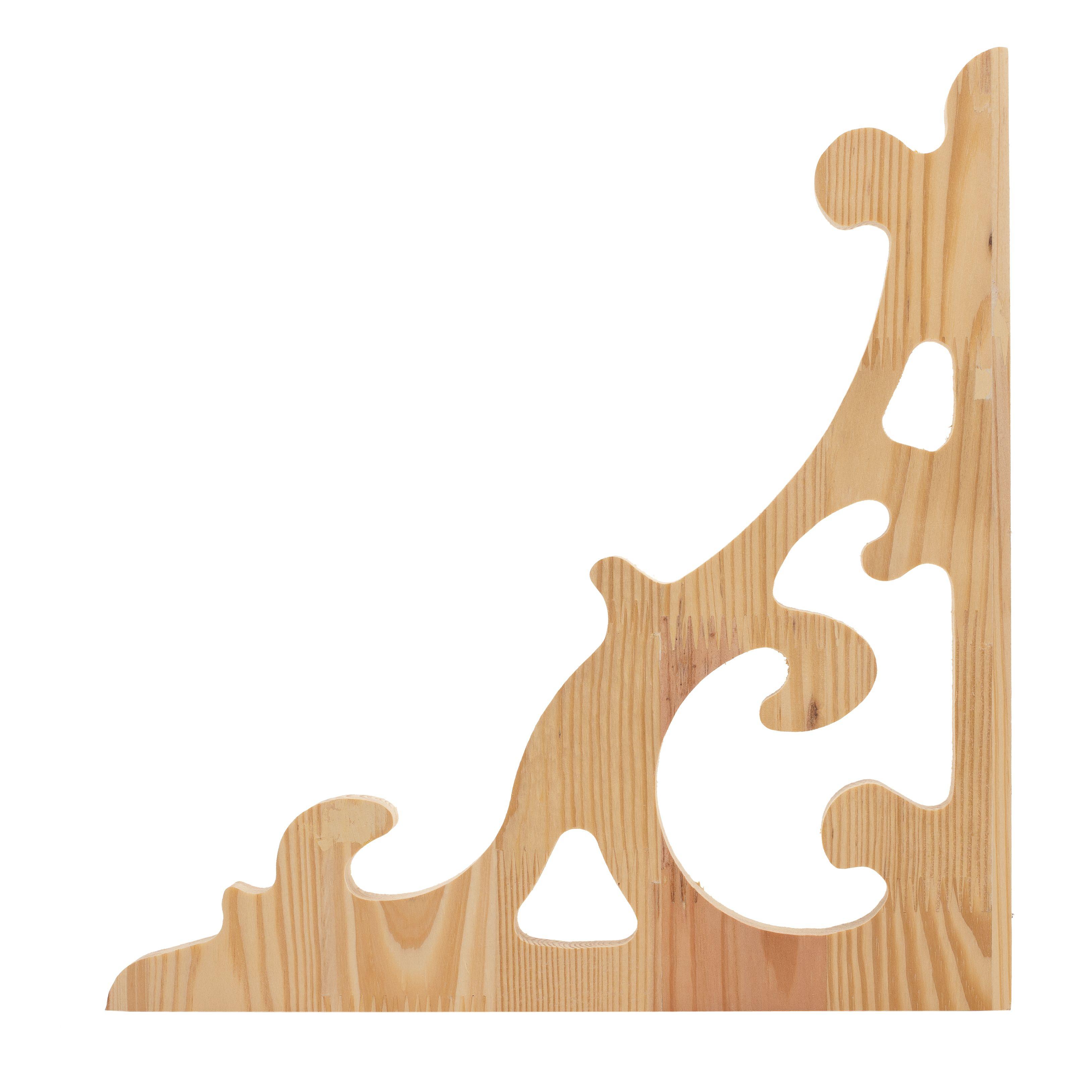 Bracket Veranda and Corner 355x355mm Treat Pine Rg17 - Bunnings