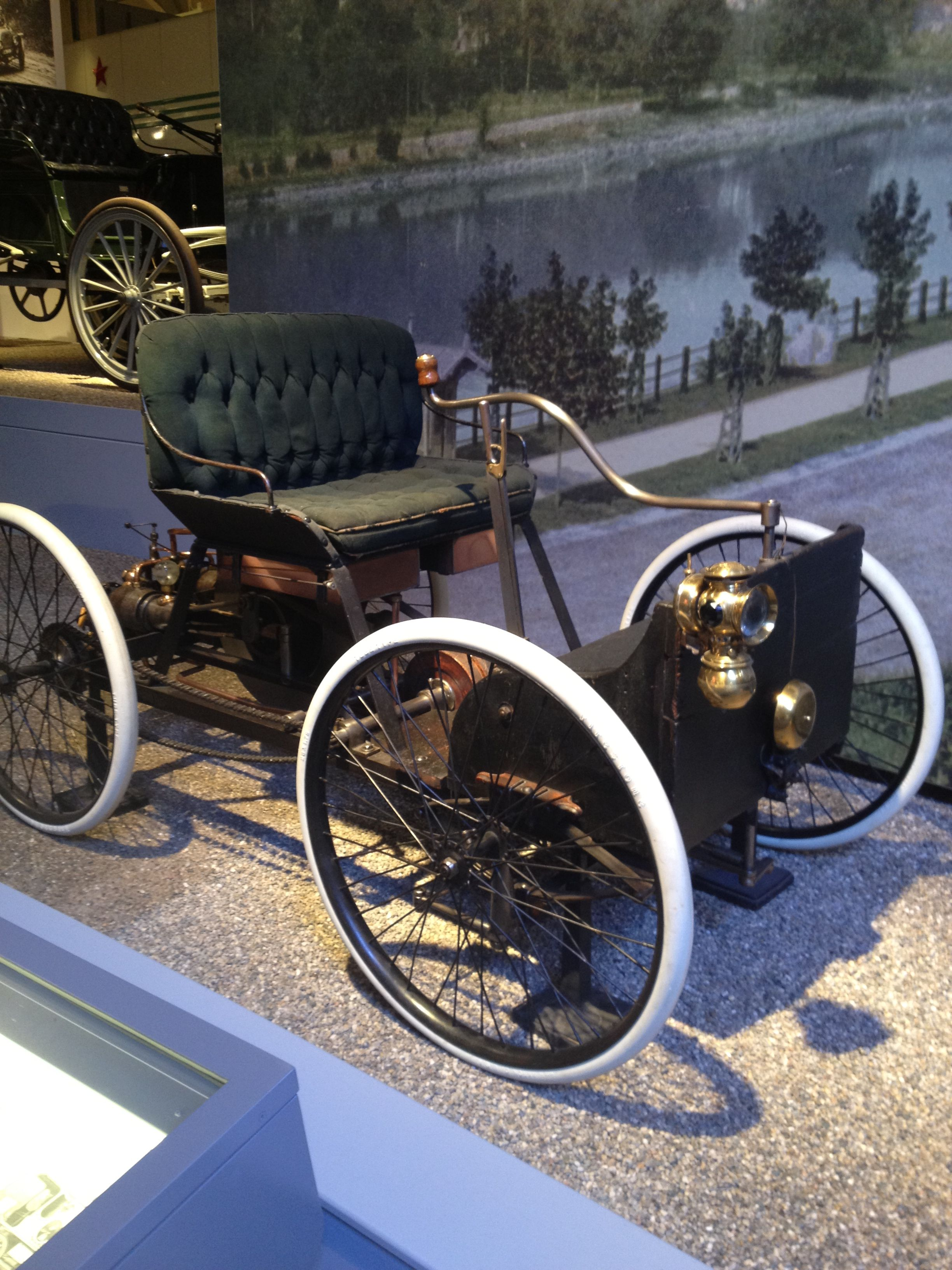 1896 Ford Quadricycle Henry Ford Museum Antique Cars Vintage Cars