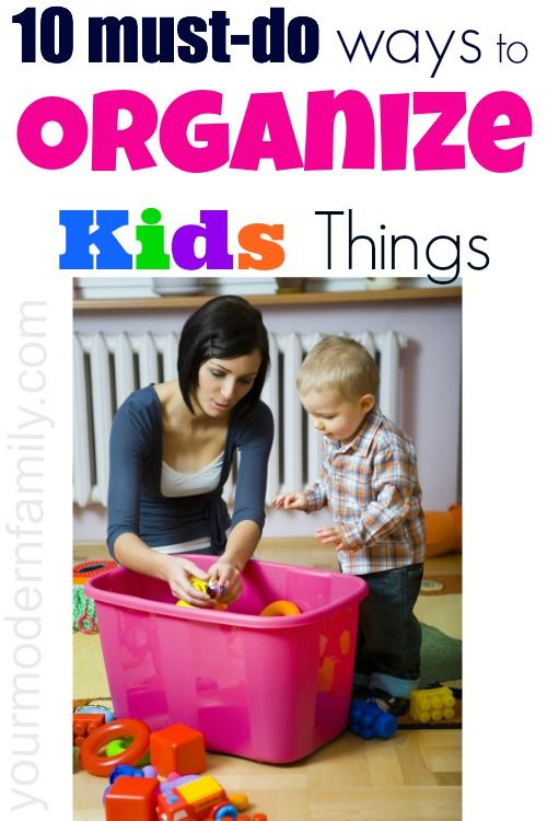 10 Types Of Toy Organizers For Kids Bedrooms And Playrooms: Top Ten Ways To Organize Your Kids Things (toys, Bedroom
