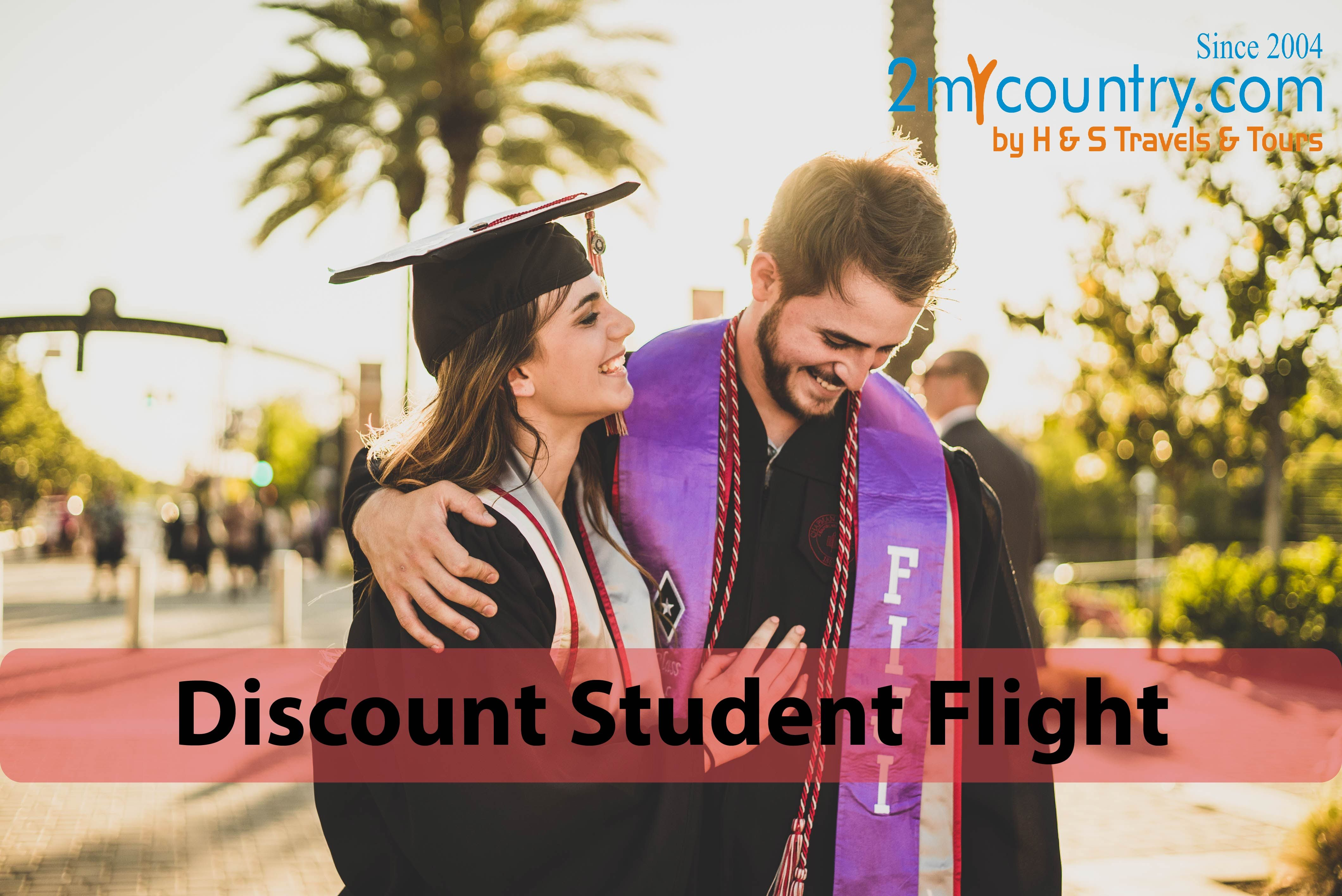 Find student flights and student airfare on 2mycountry. Book now and save big on student travel to popular destination throughout the world.  #airlinetickets #studentflights #cheapflights #flighttickets #studenttickets #photooftheday #studenttravel #traveldeals #travelairfare #2mycountry #cheapairfare #internationalflightdeals #cheapairdeals #picoftheday #studentflight #studenttickets #cheapflightsdeals #cheapdeals #flightsairfares #cheaptickets #cheapairline #studentairtickets #cheapflights