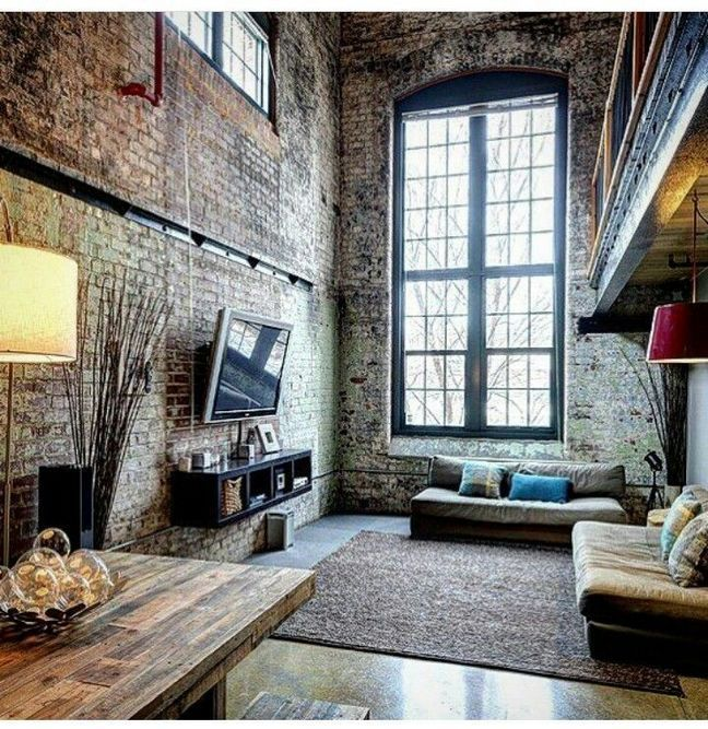 50+ Creatively Industrial Interior Design Ideas for House or Office #loftdesign