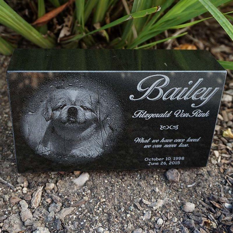 Gallery Granite Pet Memorials Pet Memorials Laser Engraving