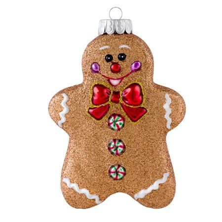 christopher radko gingerbread ornaments make wonderful christmas gifts for friends and family they will also make your christmas tree look fabulous - Gingerbread Christmas Decorations Beautiful To Look