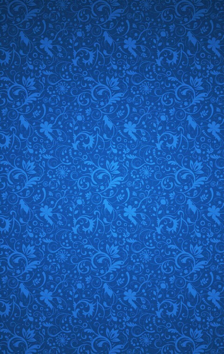 Royal Blue floral #wallpaper #blendable #graphic design