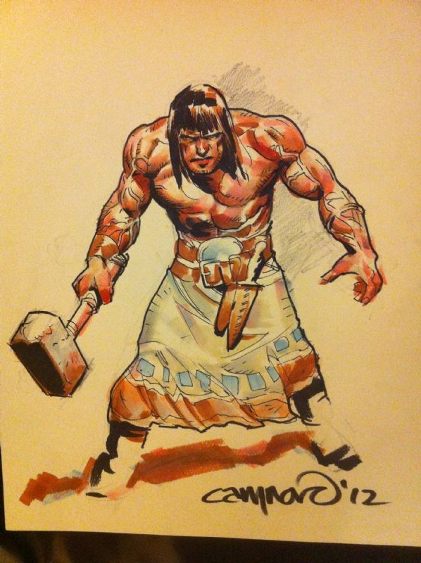 Conan by Cary Nord Comic Art