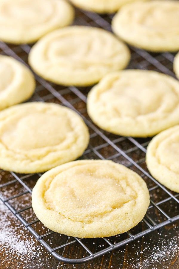 The Best Soft and Chewy Sugar Cookies  they require no chilling theyre quick and easy to make buttery and full of vanilla and soft and chewy for DAYS
