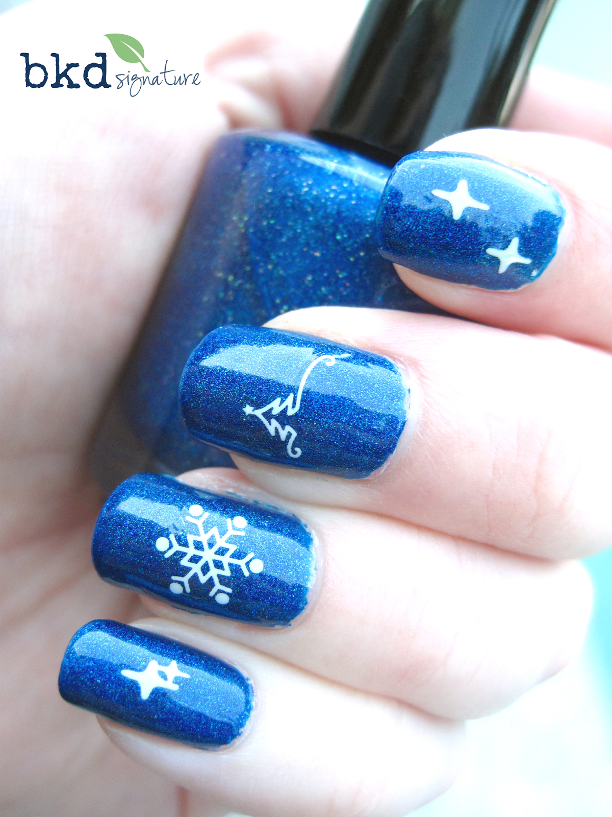 The Handmade Perspective: Day4JNAC - 13 Days of January Nail Art ...