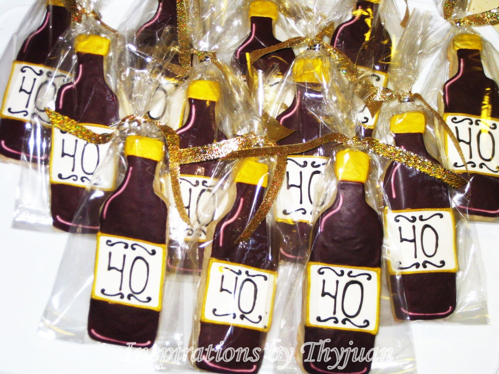 Cookie Party Favors 40th Bday Ideas Birthday Gifts
