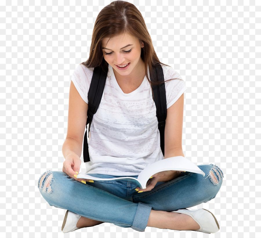 Student Reading Book Education College High School Student Png Education College Student Education Quotes Inspirational