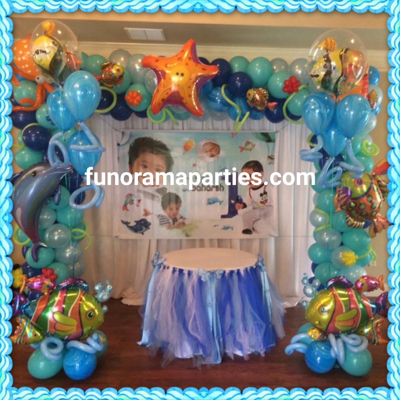 Mermaid Balloon Under the Sea Decoration birthday party