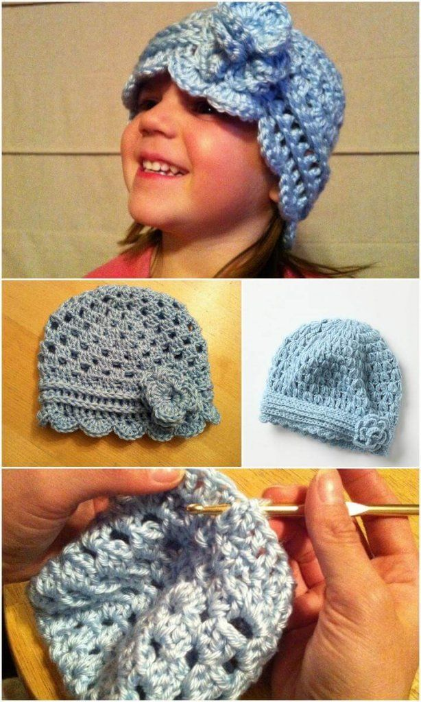 17 Free Crochet Baby Beanie Hat Patterns Crochet Baby Beanie Baby