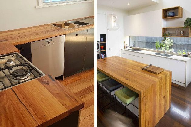 Custom Recycled Timber Benchtops And Kitchens Timber