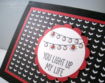 Happily Ever Crafter:  Valentine's Class featuring the Hey, Valentine and One Tag Fits All stamp sets by Stampin' Up both in the Occasions Catalog 2015! Check this post to see the other projects I created with these fun sets!