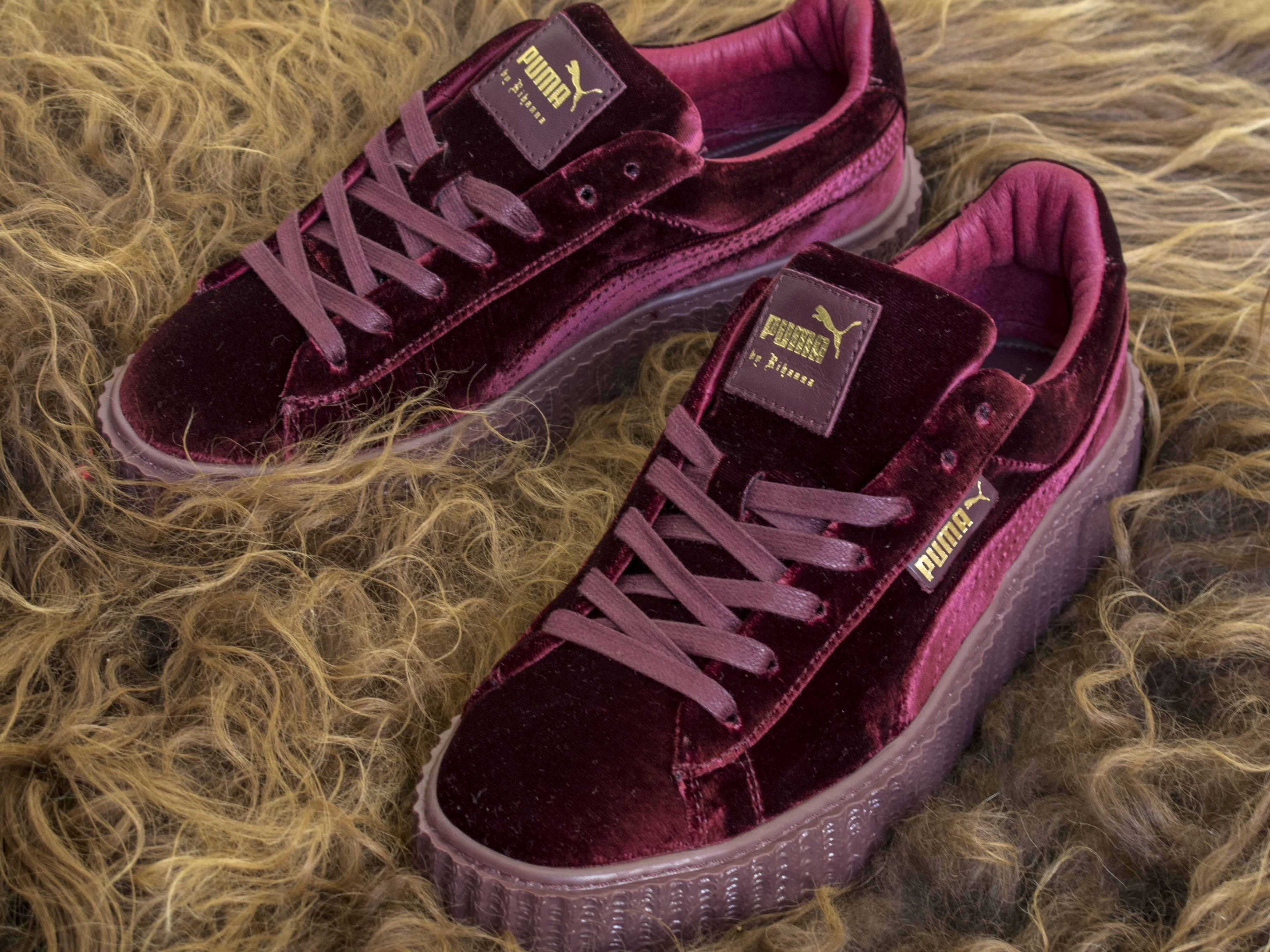 7254539151a Watch out for fake Puma Rihanna Creepers - Velvet when you shop ...
