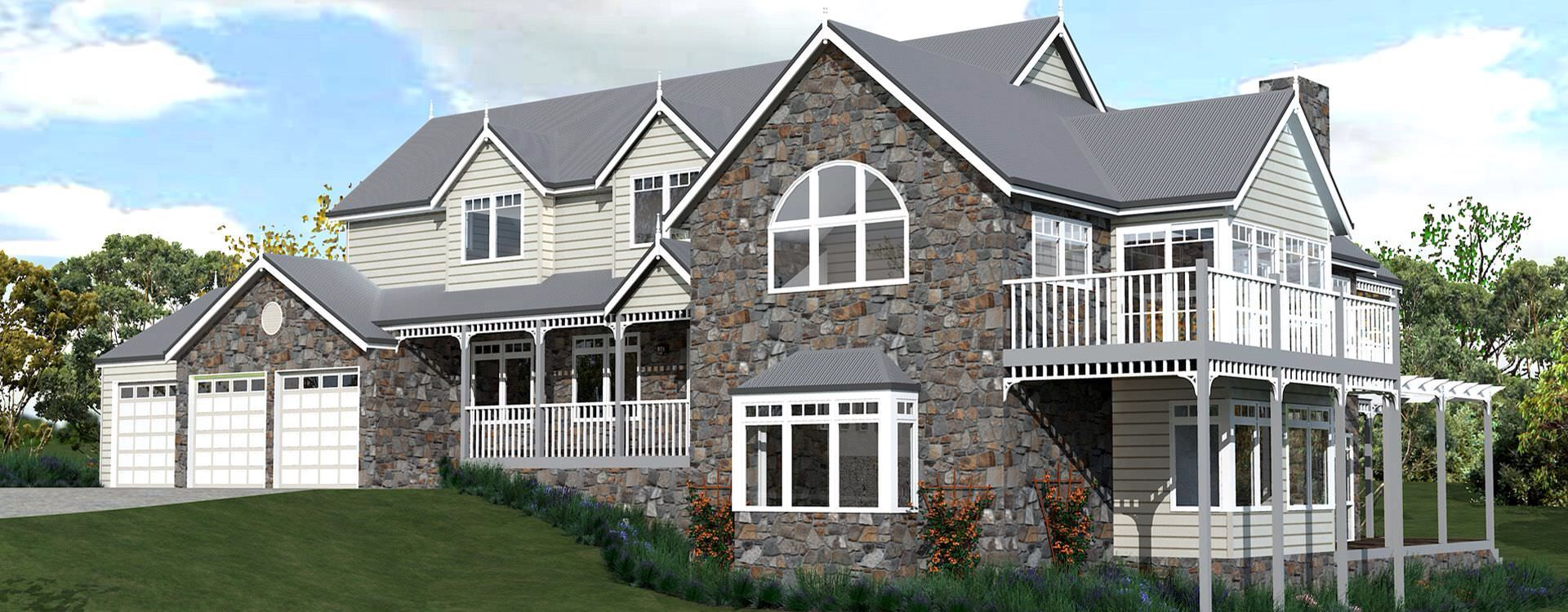 Like the stone and weatherboard house pinterest Stone cottage kit homes