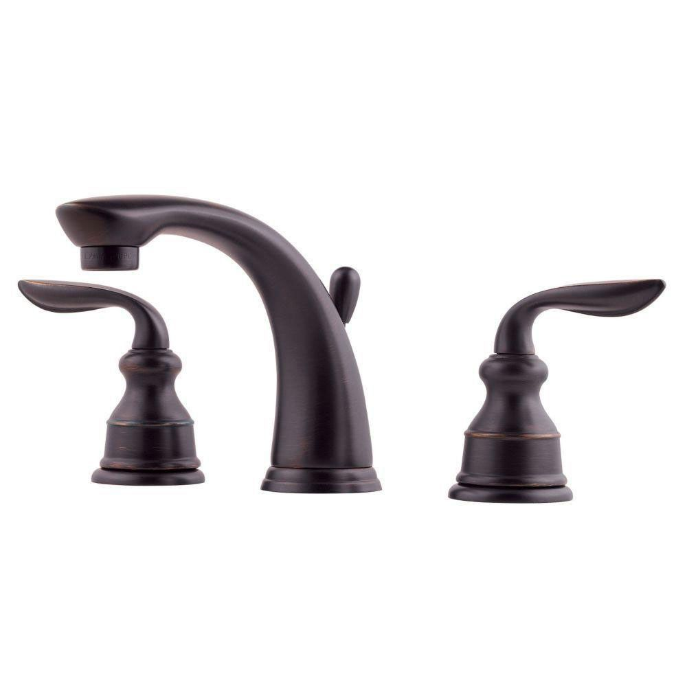 Price Pfister Avalon 8 inch Widespread 2-Handle Bathroom Faucet in ...